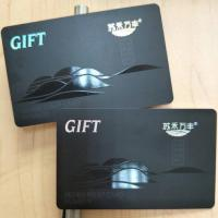 Plastic Cards Plastic gift cards with UV spot