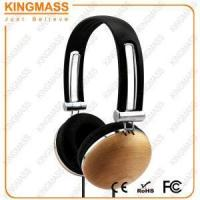 Buy cheap KM-HE820WD High Quality Pure Maple Wood Over-ear Headphone product