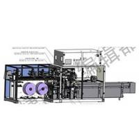 Automatic packaging machine for sanitary napkin pads