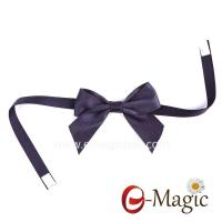 China PB-016 Factory Outlet Polyester Ribbon Bow Artificial Flowers For Gift Packing on sale