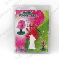 Magic Mystery Paper Magic growing crystal Red tree