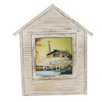 Distressed Wood 5 X 7 Table Standing Photo Frame