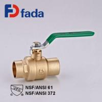 Buy cheap Lead-free Brass Ball Valve Lead-free Brass Solder Ball Valve Sweat X Sweat product
