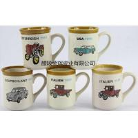 ceramics product Hand painted 100 year car cup