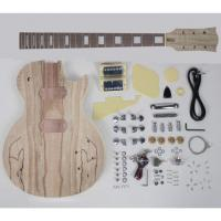 Map Patterns Unfinished Electric Guitar Kits