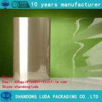 Buy cheap PE plastic packaging film smooth stretch film product