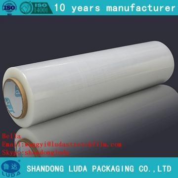 Quality Self - adhesive plastic packaging film smooth stretch film for sale