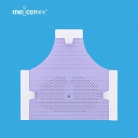Buy cheap Meicen Violet Triangular Reinforced 3-Point Head Mask with Grip Radiotherapy Thermoplastic Mask product