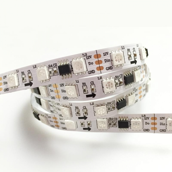 China 5050RGB IC (60LEDs/m) LED Flexible Strip