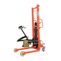 Buy cheap 350kg 1.6 meter Drum Lifter Truck product