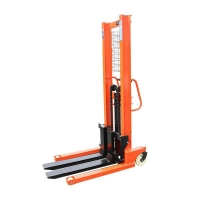 Buy cheap 1000kg 1.6 meter Manual Pallet Stacker from wholesalers