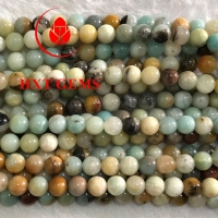 Buy cheap Amazonite Multicolor AA 12mm Round Beads,Amazonite product