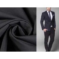 Buy cheap 100% polyester 1/2 twill fabric four way stretch fabric for garment from wholesalers