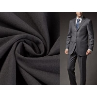 Buy cheap 100% polyester four way stretch fabric for men suit from wholesalers
