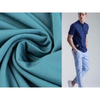 Buy cheap 100% polyester business man suit garment four strech way fabric from wholesalers