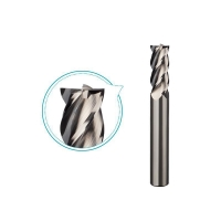 Buy cheap Groove polishing carbide end mill for aluminum milling 4 flutes,good surface from wholesalers
