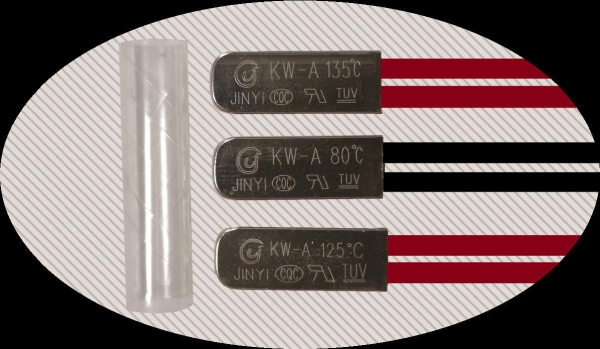 China Kw-a (iron shell) thermal protector
