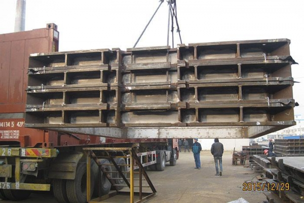China Custom Structural Steel weldments