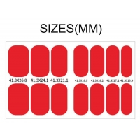 Buy cheap Part Hot Stamping Imitation Diamond 3D Nail Stickers product