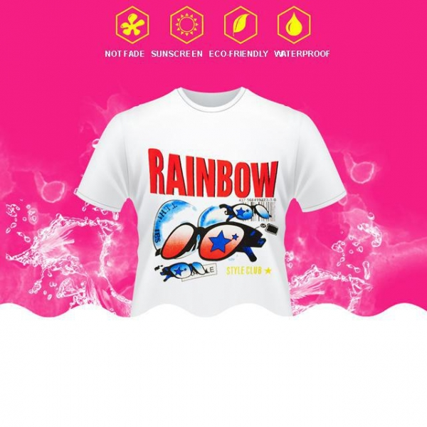 China Sublimation Paper For Light T-shirt