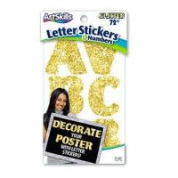Buy cheap Gold Glitter Letter Stickers from wholesalers