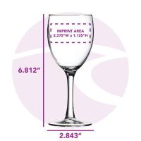 Buy cheap Wine Glasses 8.5 oz. Nuance Wine Glass / A43874 product
