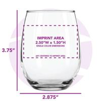 Buy cheap Wine Glasses 9 oz. Stemless Wine Glass / AC8832 / L207 product