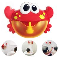 Buy cheap Xiangtat Crab Bath Bubble Maker Machine Automatic Bubble Blower Machine Baby Bath Toys Water Toys from wholesalers