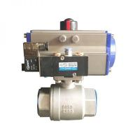 Buy cheap Pneumatic 2-Piece Ball Valve from wholesalers