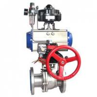 Buy cheap Pneumatic ball valve from wholesalers