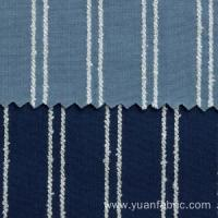 Buy cheap Yarn Dyed Woven Cotton Denim Fabric For Shirt product