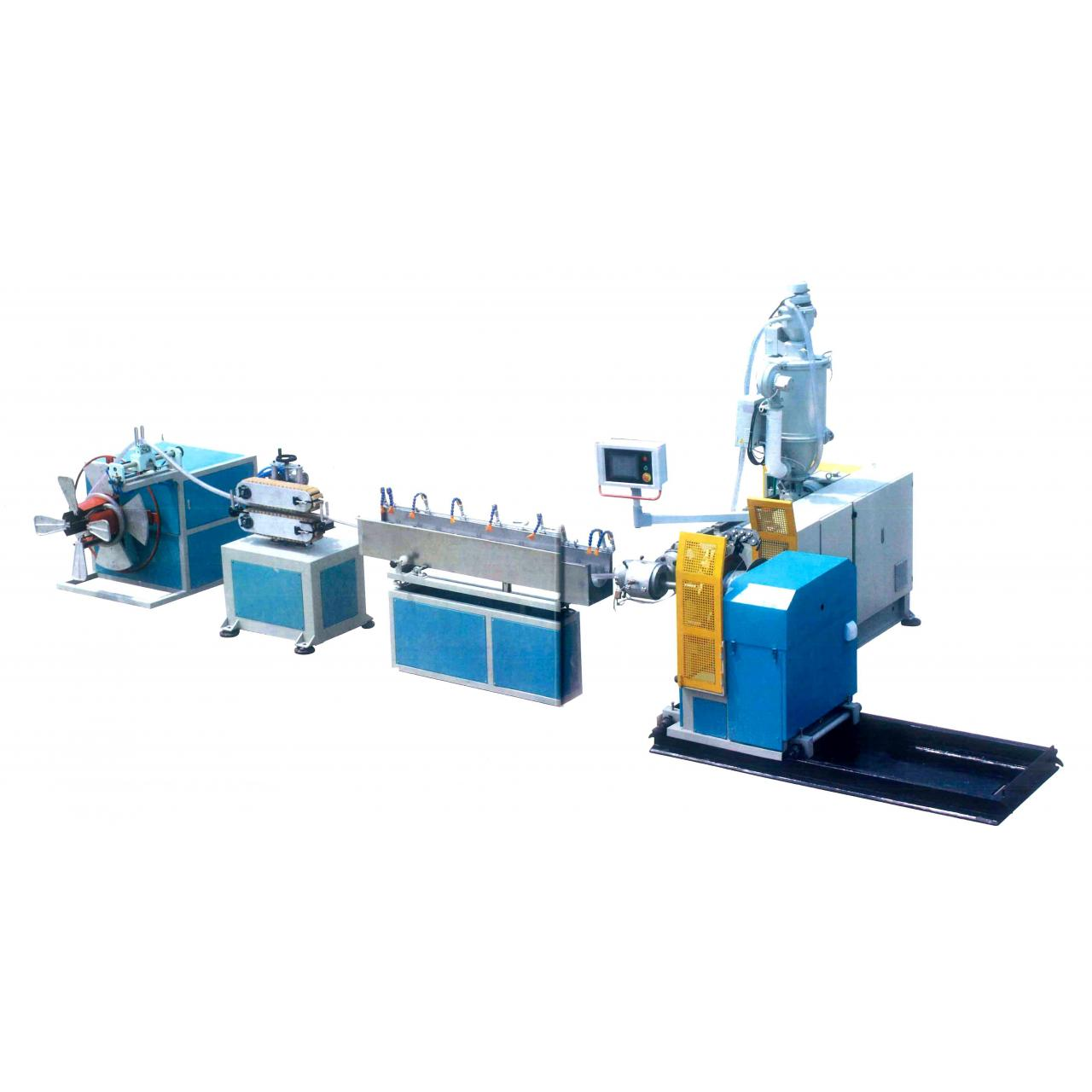 Quality abstract PVC pipe production line LEARN MORE PVC pipe production line for sale