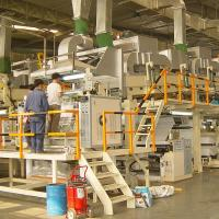 Buy cheap Coating & Laminating Production Line for no woven paper product