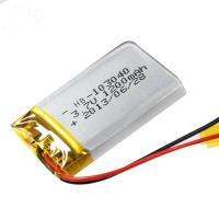 Buy cheap Low temperature lithium battery 103040 1200mAh 3.7V product